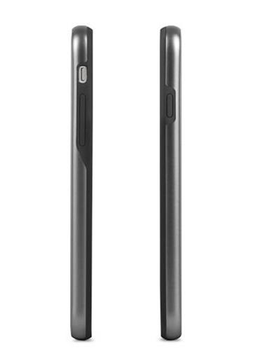 iGlaze iPhone 8 / 7 Metro Siyah Telefon Kılıfı-Moshi